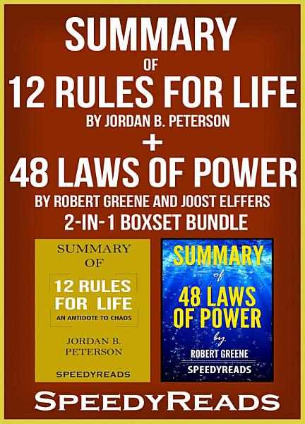 Summary Of 12 Rules For Life An Antidote To Chaos By Jordan