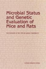 Microbial Status and Genetic Evaluation of Mice and Rats PDF