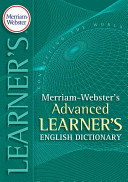 Merriam Webster s Advanced Learner s English Dictionary PDF