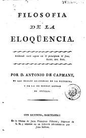 Filosofia de la eloqüencia