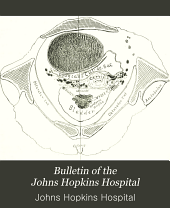 Bulletin of the Johns Hopkins Hospital: Volume 15