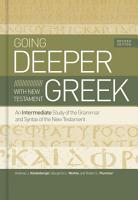 Going Deeper with New Testament Greek  Revised Edition PDF