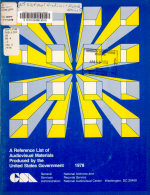 A Reference List of Audiovisual Materials Produced by the United States Government  1978 PDF