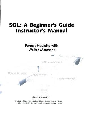 Instructor s Manual  Im SQL Beg Gde Instructors Man PDF