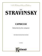 Capriccio: Piano Duo/Duet (2 Pianos, 4 Hands)