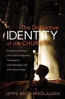 The Distinctive Identity of the Church PDF