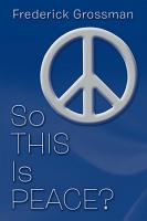 So This Is Peace  PDF