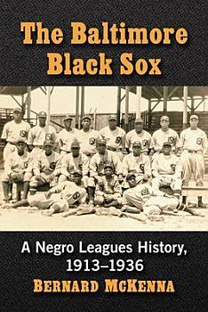 The Baltimore Black Sox PDF