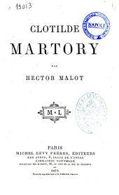 Clotilde Martory par Hector Malot