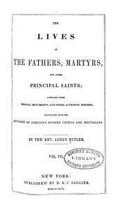 The Lives of the Fathers, Martyrs, and Other Principal Saints