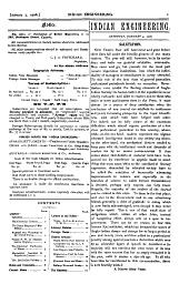 Indian Engineering: Volume 43