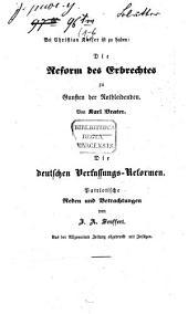Blätter für politische Kritik: Im Verein mit mehreren deutschen und schweizerischen Staatsmännern, Bände 1-6