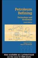Petroleum Refining PDF