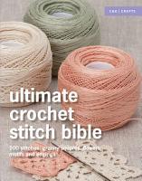 Ultimate Crochet Stitch Bible PDF