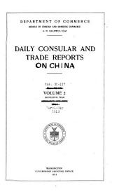 Daily Consular and Trade Reports: Issues 50-127