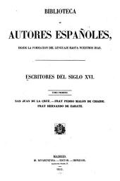 Escritores del siglo XVI ...