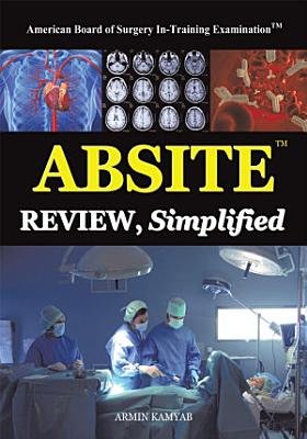 Absite Review  Simplified PDF