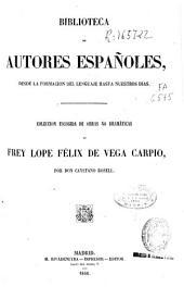 Colección escogida de obras no dramáticas de Frey Lope Félix de Vega Carpio