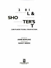 2001 Novel and Short Story Writer s Market PDF