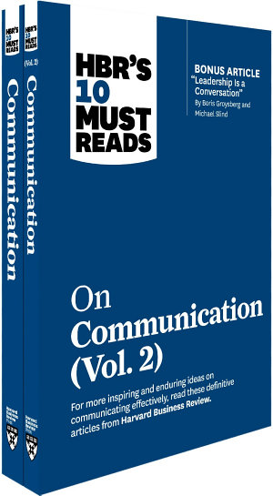 HBR s 10 Must Reads on Communication 2 Volume Collection