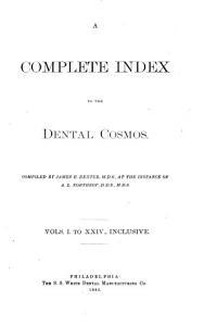 The Dental Cosmos PDF