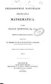 Philosophiæ naturalis principia mathematica: Volume 1