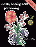Botany Coloring Book for Relaxing