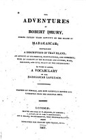 The Adventures of Robert Drury PDF