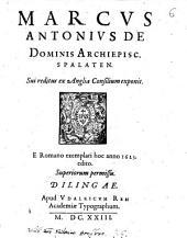 Sui reditus ex Anglia consilium exponit