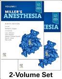 Miller s Anesthesia  2 Volume Set PDF