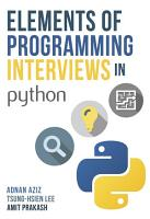 Elements of Programming Interviews in Python PDF
