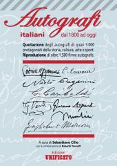 AUTOGRAFI ITALIANI dal 1800 ad oggi