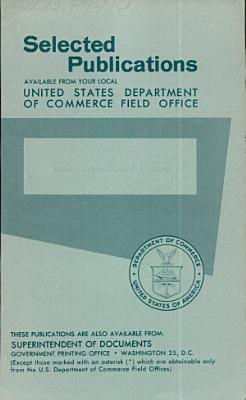 Selected Publications Available Through Your Local United States Department of Commerce Field Office PDF