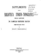 Biblioteca storico-topografica degli Abruzzi: Volume 2