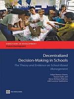 Decentralized Decision making in Schools PDF