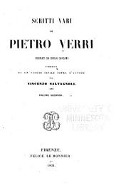 Scritti vari: Volume 2