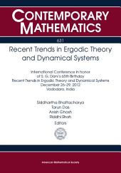 Recent Trends in Ergodic Theory and Dynamical Systems