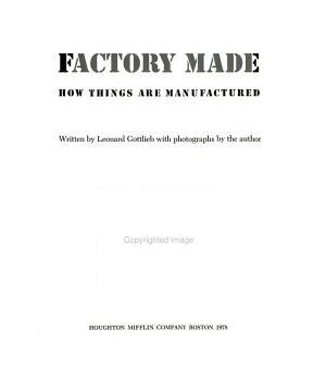 Factory Made PDF
