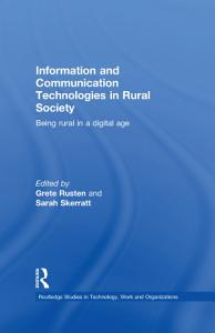 Information and Communication Technologies in Rural Society PDF