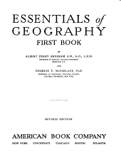 Essentials of Geography: Book 1
