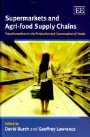 Supermarkets and Agri food Supply Chains PDF