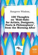 Hangover Wisdom  100 Thoughts on Wabi Sabi PDF