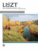 Liszt    Six Consolations