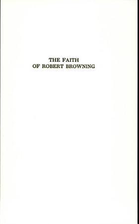 The Faith of Robert Browning PDF