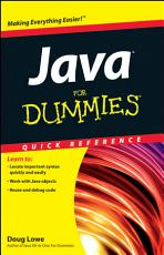 Java For Dummies Quick Reference PDF