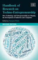 Handbook of Research on Techno Entrepreneurship  Second Edition