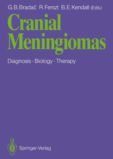 Cranial Meningiomas PDF