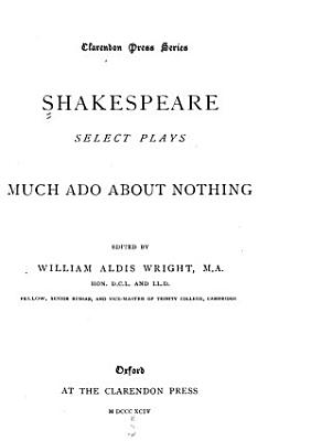 Select Plays  Much ado about nothing PDF