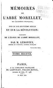 Mémoires sur le dix-huitième siècle et sur la Révolution: Volume2