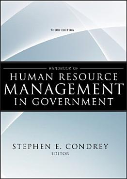 Handbook of Human Resource Management in Government PDF